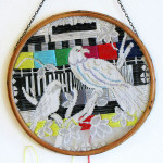 Birds.test.screen' embroidery