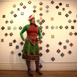 'Kick Art Salon'Mosaic Mural by Ruchama Hoed