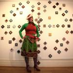 'Kick Art Salon'Mosaic Mural by Ruchama Hoed